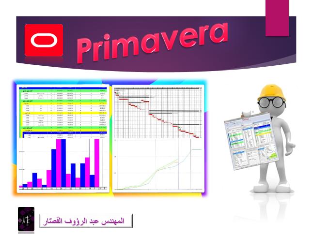 Basics in the Primavera program