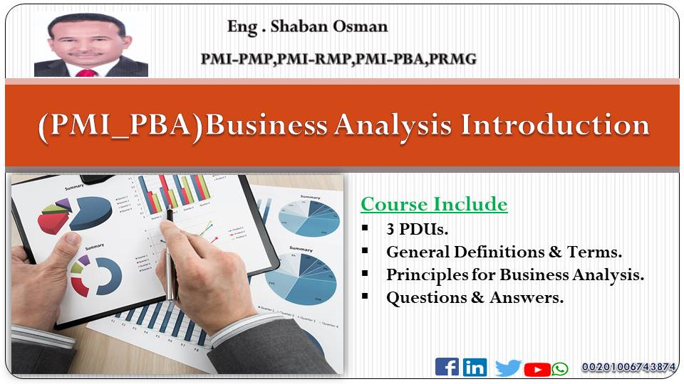 PMI_PBA Preparation Course (Basic Level)