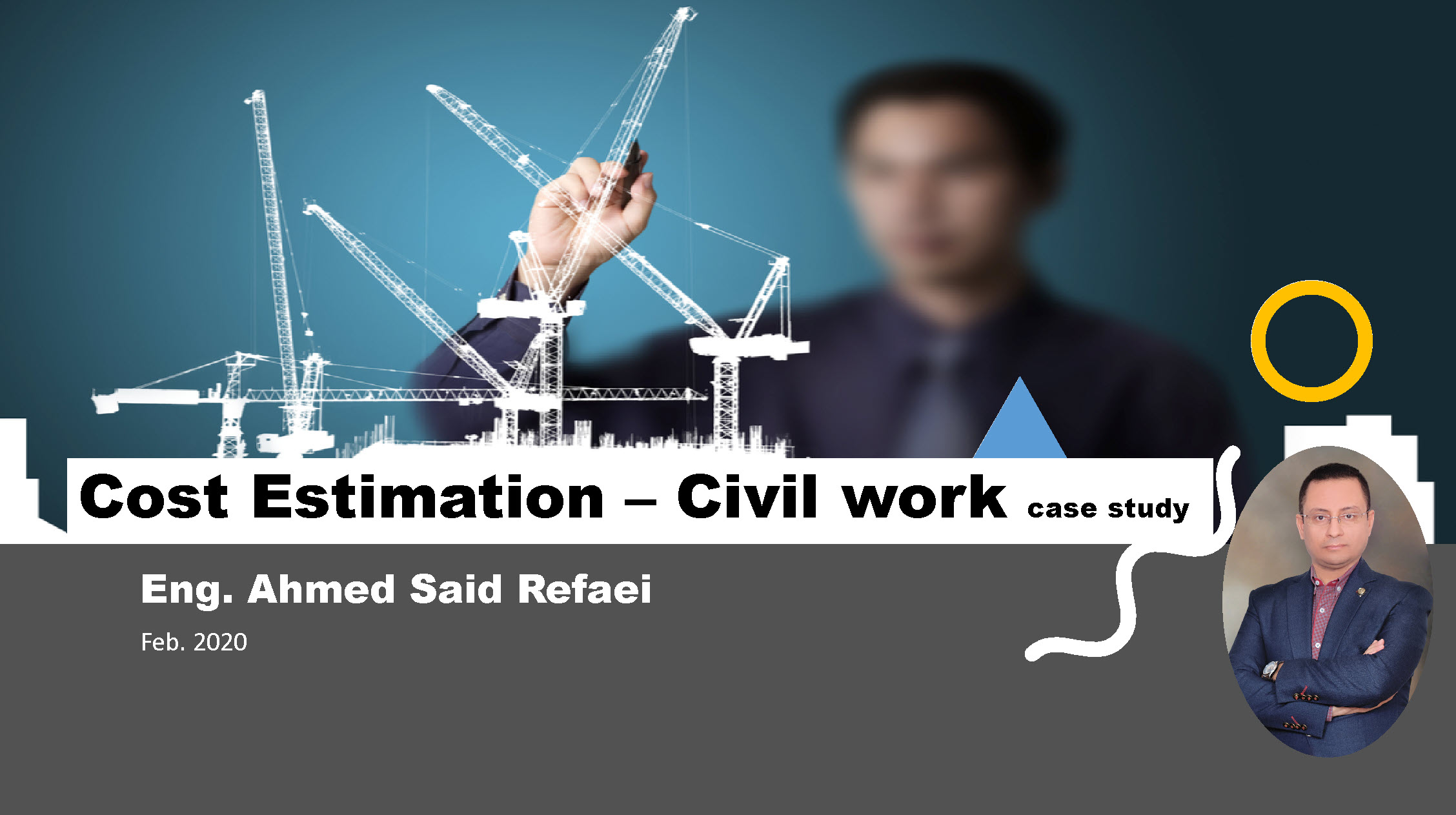 Cost Estimating - Civil work
