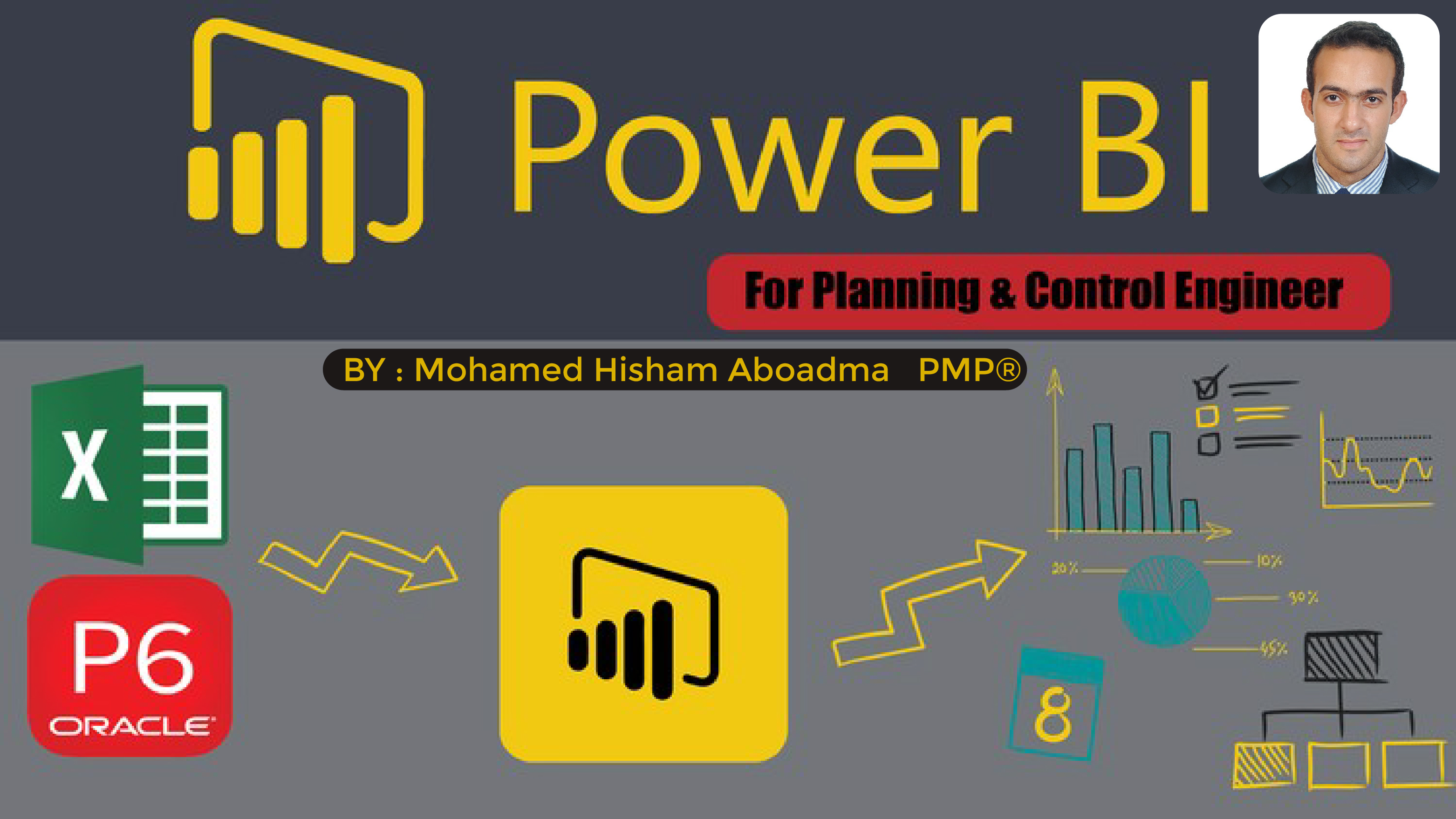 Microsoft Power Bi for planning and control Engineers