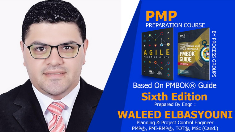 PMP Preparation Course 6th Edition includes 41 PDUs -Arabic