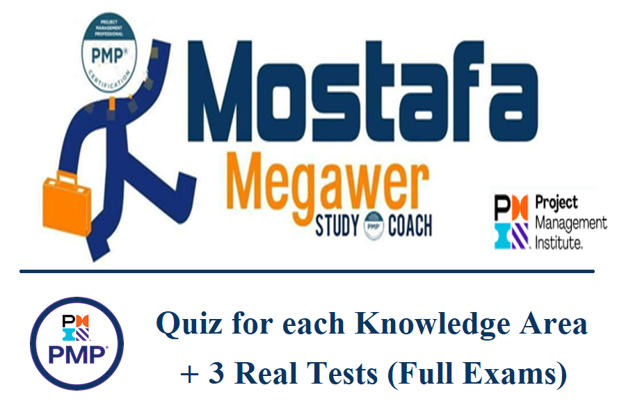 PMP | 3 Full Tests + 11 Tests per Knowledge Area