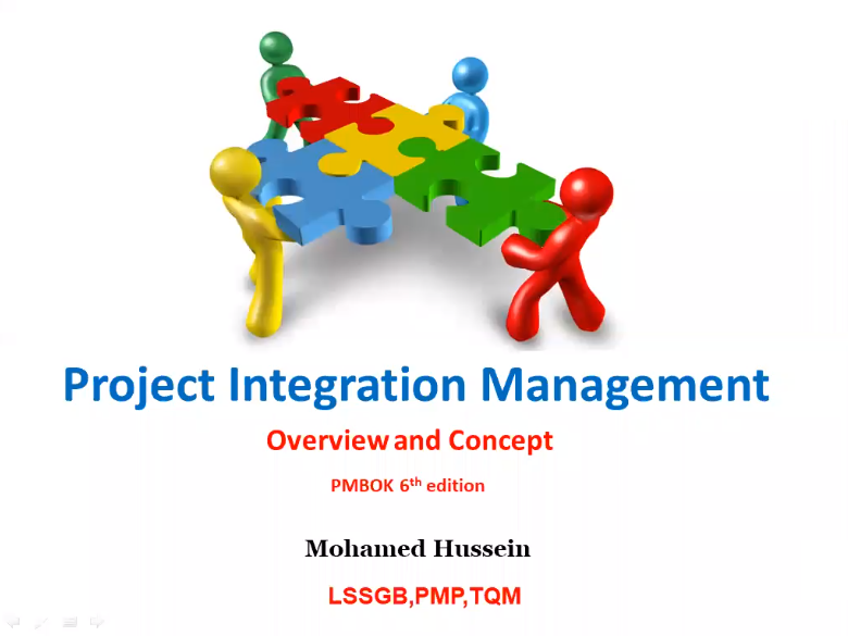 PMP Processes Flow Interaction - Integration Overview